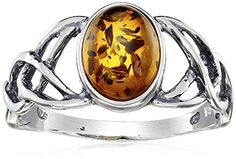 Sterling Silver Amber Celtic Love Knots Ring, Size 5 Amazon Collection http://www.amazon.com/dp/B001BFD6Y0/ref=cm_sw_r_pi_dp_sjtUvb034NBQK