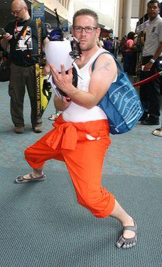 I shall call him.....dude Chell Comic-Con 2012