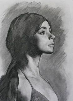 Charcoal Drawing Design Portrait drawing technique with charcoal, Louis Smith Portrait Sketches, Portrait Illustration, Pencil Portrait, Portrait Art, Easy Portrait Drawing, Portrait Paintings, Life Drawing, Figure Drawing, Drawing Sketches