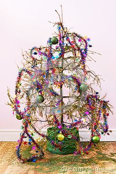 dead christmas tree - Google Search