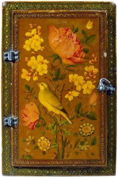 Lot : Coffret de miroir en laque Qadjar | Dans la vente Archéologie, Arts d'Orient à Boisgirard Antonini Paris