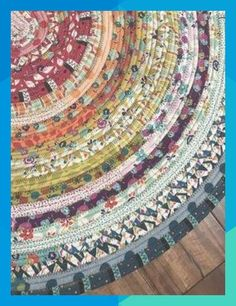 jellyroll quilts Learn tips and tricks to make a beautiful and colorful jelly roll rug. All you need is some precut batting and a jelly roll of fabric! Fabric Rug, Fabric Scraps, Fabric Dolls, Sewing Hacks, Sewing Crafts, Sewing Tips, Sewing Tutorials, Quilting Tutorials, Diy Vintage
