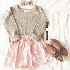 Beige Long Sleeve Sequined Loose Pullovers Sweater - Kawaii & Cute outfit