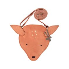 Oh Deer, how cute! Which treasures will your little one keep in their Britta Purse? The purse has an adjustable strap and is easy to close thanks to the zipper. Delivered in a beautiful gift package. premium leather Equipped with a zipper. Gray Label, Purse Wallet, Coin Purse, Childrens Purses, Leather Wallet, Leather Bag, Kids Bags, Kind Mode, Leather Working