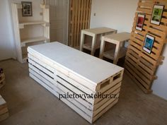 Stylus, Pallets, Furniture, Home Decor, Salvaged Wood, Decoration Home, Style, Room Decor, Home Furnishings