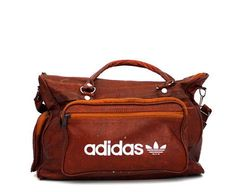 5a6806fd51c8 See more. Vintage Leather Adidas Gym Bag - Damn