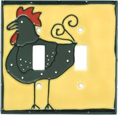 FUNKY CHICKEN Switch Plates Image, Outlet Covers, Switchplates
