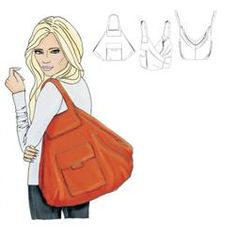 Love this! Bag Pattern ( to buy) aha...check shape of bag in sketch!! And available in UK from sewbox.co.uk