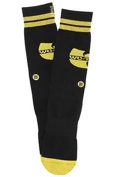 Stance Socks The WuTang Socks in Black - Karmaloop.com