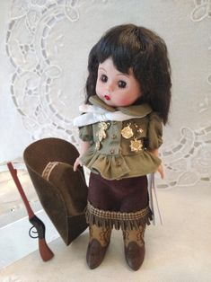 Your place to buy and sell all things handmade Rifle Accessories, Vintage Madame Alexander Dolls, Annie Oakley, Study Photos, Western Hats, Doll Stands, Pink Paper, Along The Way, Vintage Dolls