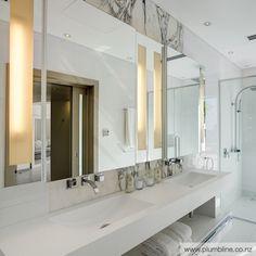 Luxury Barbados home - Footprints by Kelly Hoppen MBE - Adelto Barbados, Casas No Algarve, Kelly Hoppen Interiors, Stone Basin, Villa, Beautiful Bathrooms, White Bathrooms, Bathroom Inspiration, Bathroom Ideas