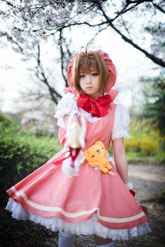 Sakura Kinomoto from Cardcaptor Sakura....so want to cosplay as Sakura