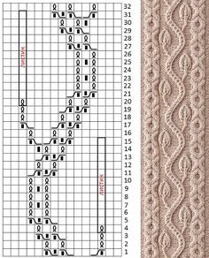 Best 12 H.Shida, G. Roehm – 250 Japanese Knitting Stitches: The Original Pattern Bible / узоры. Cable Knitting Patterns, Knitting Stiches, Knitting Charts, Lace Knitting, Knit Patterns, Stitch Patterns, Knit Crochet, Diy Crafts Crochet, Craft Patterns