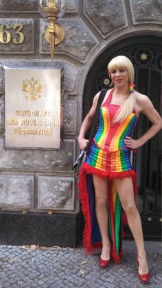 """A new spin on being a""""Rainbow Girl"""""""