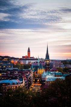 Gothenburg, Sweden http://dreameurotrip.com - What a stunning pic of Gothenburg, wow!