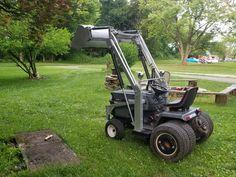 Heavy Equipment, Outdoor Power Equipment, Homemade Tractor, Mini Excavator, Engin, Kubota, Welding Projects, Lawn And Garden, Lawn Mower