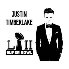 Digi-tizers Justin Timberlake SBLII (SVG Studio V3 JPG) We also make shirts, vinyl decals, wall art, koozies and more! If you would like any of our designs on a different item than listed please send me a message and I will see if we can accommodate you. *Note.. if you ordered a