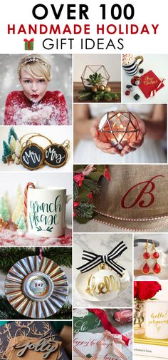 Over 100 Handmade Holiday Gift Ideas!