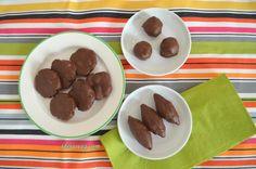 Mini bolinhos com cobertura de chocolate (sem glúten) #receita #vegana #vegetariana #vegan #vegetarianismo #veganismo