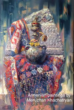 Նոր նկար «Հայ քարերի հմայքը» 90х60սմ.կտ.յուղ. 2015թ. Երևան