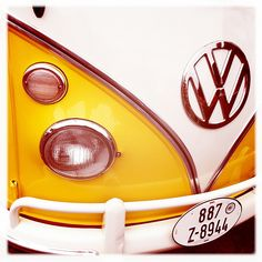 VW Pickle Bus - Bright and rebuilt. LOVE!