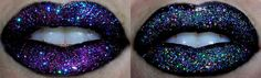 Glittery Lips Tutorial.. PERFECT for a GLAMOUR photo shoot!