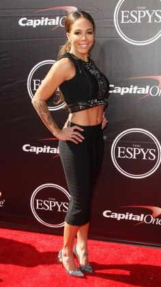 Sydney Leroux at the ESPYs. (Twitter)