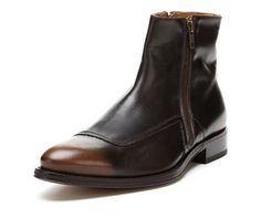 Doucal double zipper ankle boots