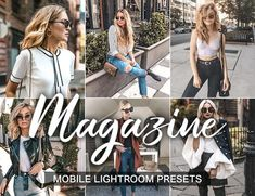 3 Lightroom Presets Magazine - insta presets and professional presets Professional Lightroom Presets, Instagram Fashion, Style Instagram, Photography For Beginners, Saturated Color, Professional Photographer, Photo Editor, Portrait Photography, Warm Colors
