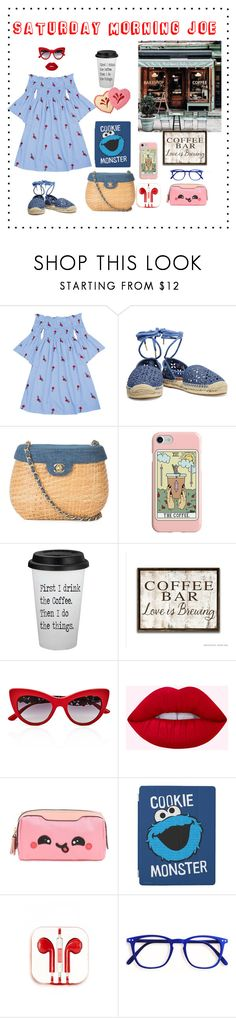 """""""Saturday Morning Joe"""" by digsystuff ❤ liked on Polyvore featuring MICHAEL Michael Kors, Chanel, Recover, Coffee Shop, Dolce&Gabbana, Anya Hindmarch and PhunkeeTree"""