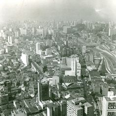 Registro da Estação Paraíso do Metro e do Centro de Controle Operacional - CCO no dia 8 de dezembro de 1970   http://www.saopauloinfoco.com.br/fotos-aereas-do-metro/