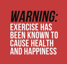 Exercise may cause health and happiness workout and fitness motivation quote. Fitness Motivation, Daily Motivation, Fitness Quotes, Motivation Inspiration, Fitness Inspiration, Fitness Humor, Funny Gym Motivation, Health Quotes, Motivation Wall