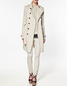 Love the structure of this coat $100 @ Zara