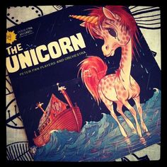 "Vintage ""The Unicorn"" Peter Pan Record"