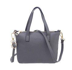 VIASA Women Fashion Handbag Shoulder Bag Tote Ladies Purse Massenger Bags  (gray) Material PU Leather Style  Shoulder bag 87ef704be72c0