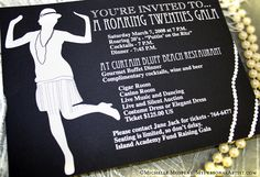 20's party ideas | Hosting a roaring 20s theme party? Costume and party ideas!