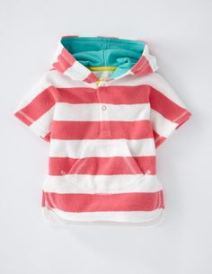 I've spotted this @BodenClothing Towelling Poncho Bright Pink/Snowdrop Stripe