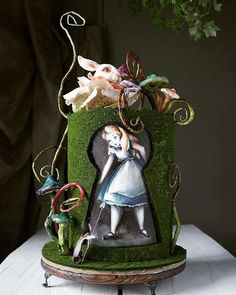10 Enchanted Garden Cakes That Are Pure Magic — Cake Wrecks Gorgeous Cakes, Pretty Cakes, Cute Cakes, Amazing Cakes, Crazy Cakes, Fancy Cakes, Cake Paris, Alice In Wonderland Cakes, Fantasy Cake