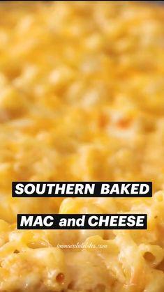 Mac And Cheese Recipe Soul Food, Macaroni Cheese Recipes, Mac And Cheese Homemade, Best Homemade Mac And Cheese Recipe, Quick Mac And Cheese, Mac And Cheese Sauce, Creamy Macaroni And Cheese, Cheesy Recipes, Fun Baking Recipes