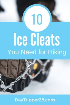 Want to get a little more traction hiking and walking this winter. Here are the best ice cleats for hiking and walking ranked for your exact need. Walking Gear, Road Trip Hacks, Hiking Tips, Winter Snow, Weekend Getaways, Minnesota, Cleats, Things To Do, Running