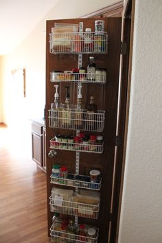 """Here's what Simply Abby thinks of our elfa Door & Wall Rack for her kitchen: """"If you have a door on your pantry, don't even contemplate this purchase — it's 100% worth the investment."""" We agree!"""