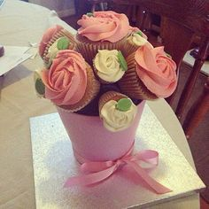 Day 96 - cake doesn't judge, cake understands.. The best bouquet we have received to date! #100DaysOfHappiness