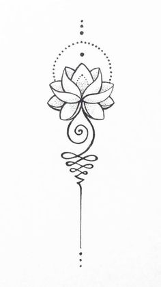 Unalome Lotus – – tattoo tatuagem – diy best tattoo images - tatoo feminina - New Ideas Lotusblume Tattoo, Tattoo Style, Mandala Tattoo, Tattoo Quotes, Tattoo Fonts, Tattoo Shop, Piercing Tattoo, Spine Tattoos, Body Art Tattoos