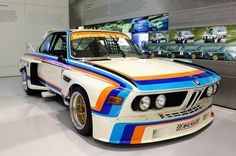 You will ❤ MACHINE Shop Café... ❤ Best of Racing @ MACHINE ❤ (The BMW 3.0 CSL Racing Car)