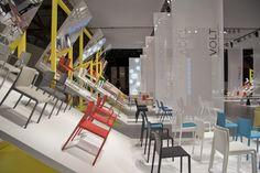 Pedrali Mirror stand by Migliore+Servetto Architects, Milan