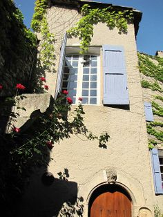 Entrance to Apartment 1 and 2 Forcalquier Gites