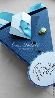 Купить коробочка для денежного подарка - разноцветный, коробочка для денег, подарок на день рождения, подарок мужчине