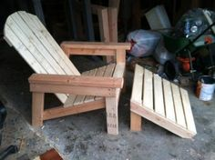 Ana White | Build a Home Depot Adirondack Footstool | Free and Easy DIY Project and Furniture Plans