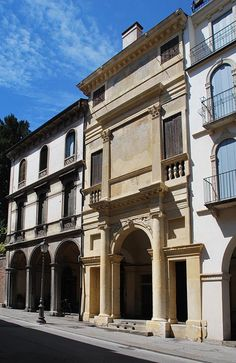 Andrea Palladio (attributed): Casa Cogollo, also called 'Palladio's house', 1559-1562, Vicenza, Italy