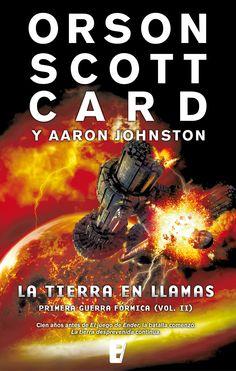 La tierra en llamas (Orson Scott Card y Aaron Johnston)
